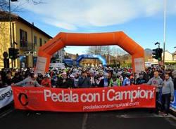 pedala con i campioni ciclismo brinzio