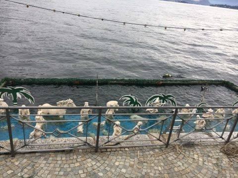 Posato il presepe nella acque del Maggiore - Natale 2017 - foto di Manuela Debbia