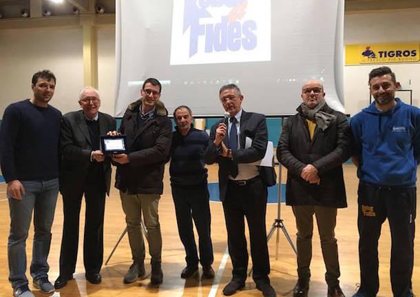 Premiazioni Robur et Fides Natale 2017