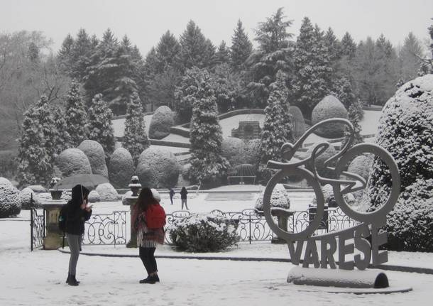 Prima neve a Varese