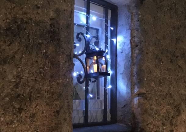 Lanterne natalizie al sacro Monte