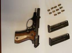 sequestro arma e munizioni a Viggiù