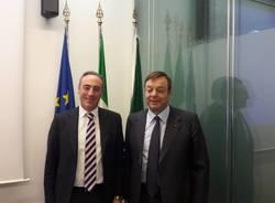 sottoscrizione accordo promozione della salute nelle aziende Regione Lombardia e Confindustria