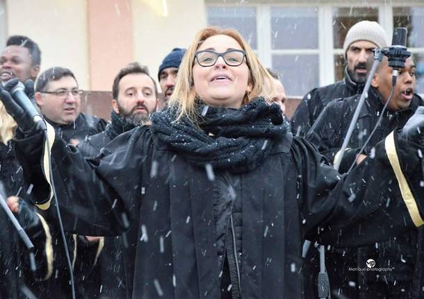 Un gospel sotto la neve a Mustonate