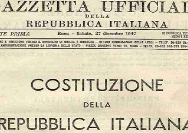 Buon compleanno costituzione 70 anni for Legge della repubblica