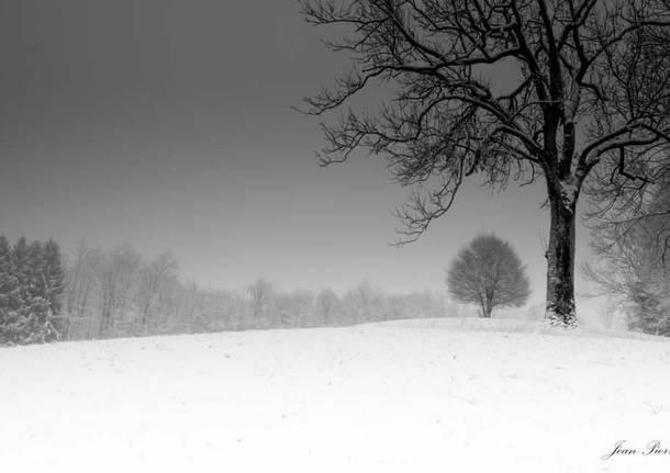 Viggiù con la neve - foto di Jean Pierre Zittino