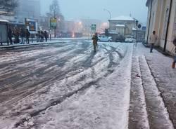 Vigili del fuoco, interventi per la neve