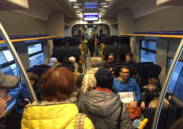 Arcisate Stabio: la giornata inaugurale a Porto Ceresio