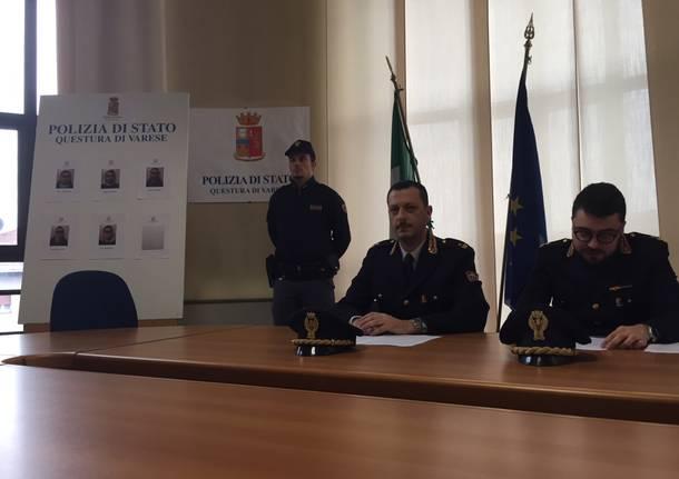 arresti operazione antidroga 17 gennaio varese squadra mobile maurizio greco