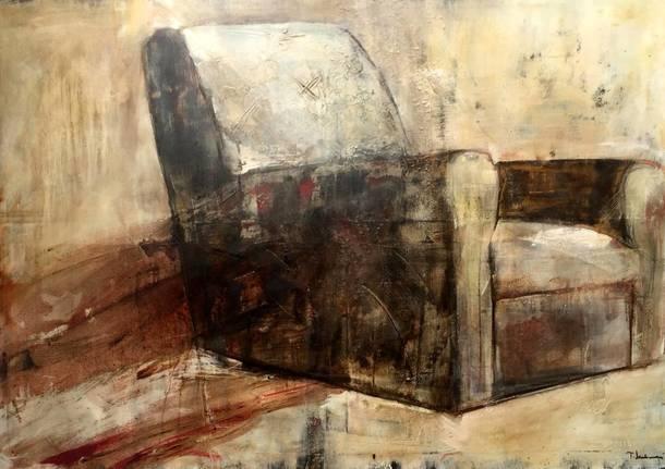 L\'artista Teresa Santinelli ospite del Micro Museo di Monza