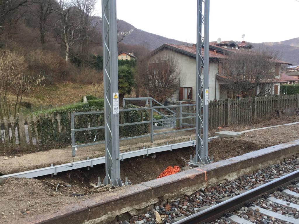 Bisuschio - Stazione non ancora completata