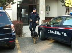 Carabinieri Saronno cane controlli