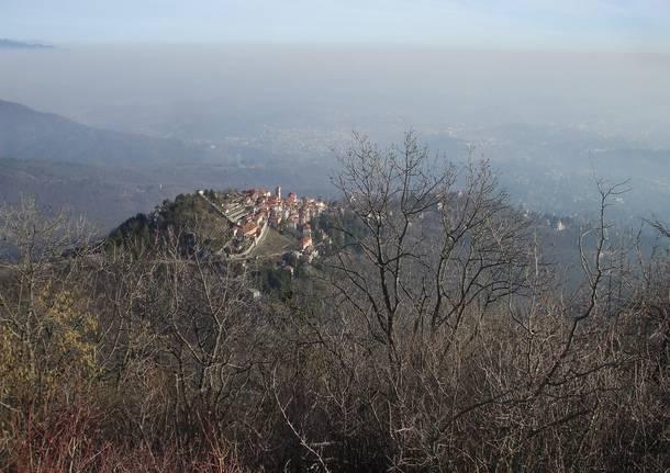 Il Sacro monte dal Campo dei Fiori