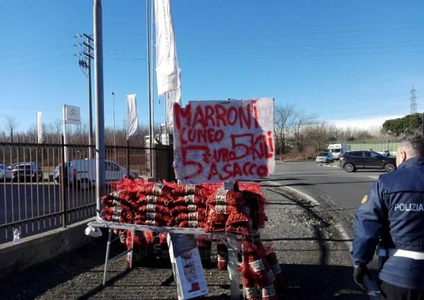 Maxi sequestro di marroni di Cuneo... a Saronno