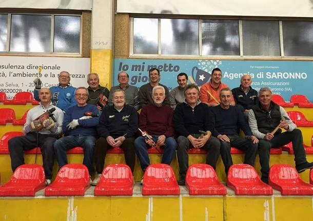 Nuove sedute al Palaronchi grazie alla Robur Basket e ai suoi volontari