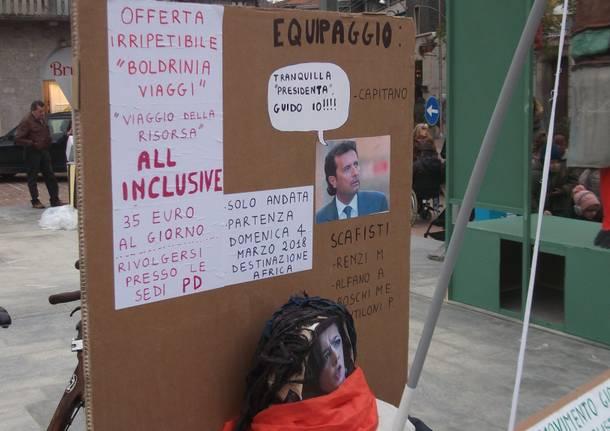 """Con la giobia """"brucia"""" Laura Boldrini"""