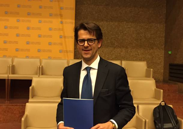 Fabio Lunghi, presidente della Camera di Commercio