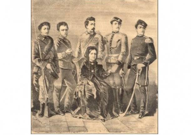 famiglia di ernesto cairoli