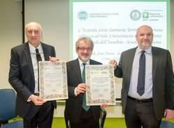firma convenzione asst lariana e università dell'insubria