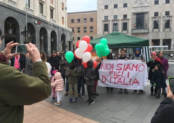 Giovani democratici in piazza