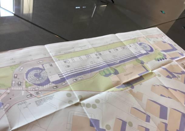 Come sarà il nuovo parcheggio dell'ospedale del Ponte
