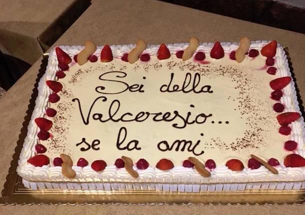 """Induno Olona - Cena del gruppo Facebook """"Se della Valceresio se la ami"""""""