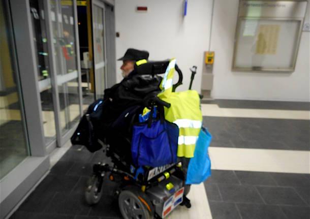 Induno Olona - disabile bloccato in stazione