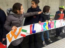 Induno Olona - Inaugurazione con i bambini Arcisate Stabio