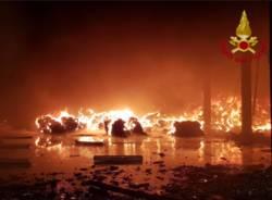 L'incendio di Corteolona 4 gennaio 2018