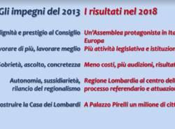 Lombardia: 5 anni di risultati