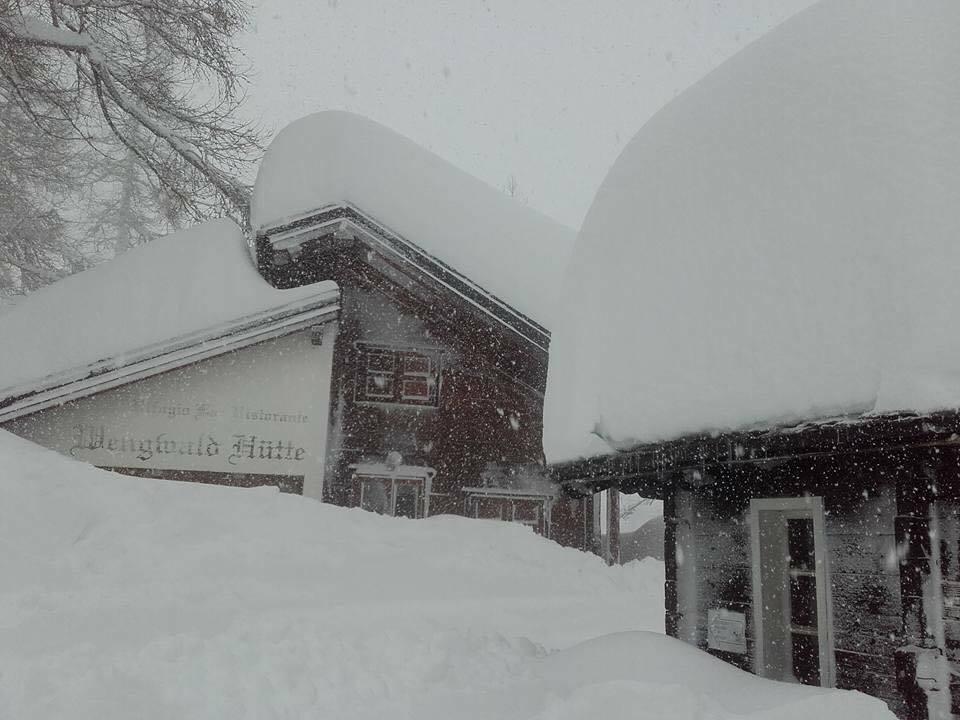 Neve alta a Macugnaga