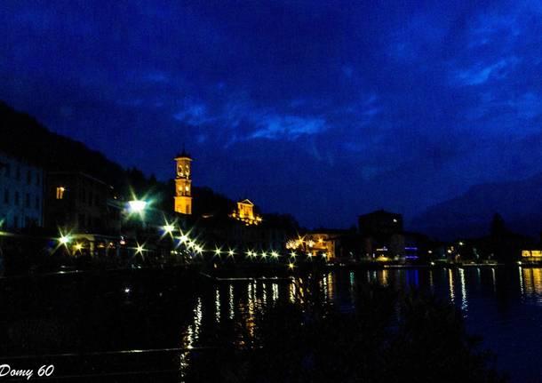 Porto Ceresio di notte - foto di Domenico De Lucia