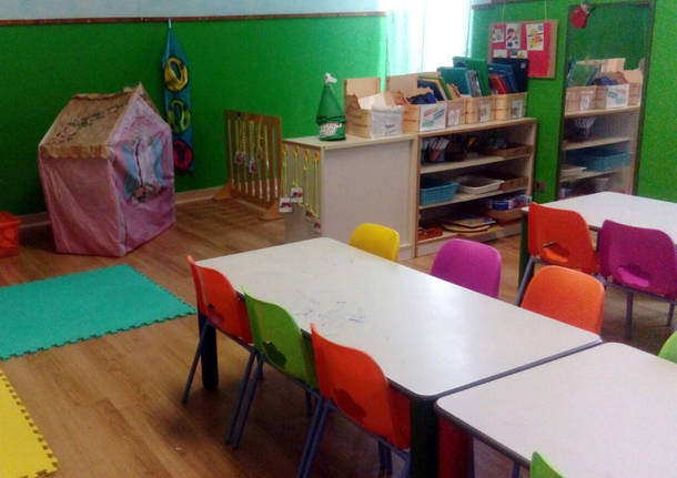 Porto Ceresio – Conclusi i lavori alla scuola materna Maffei