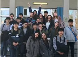 studenti corea del sud in visita