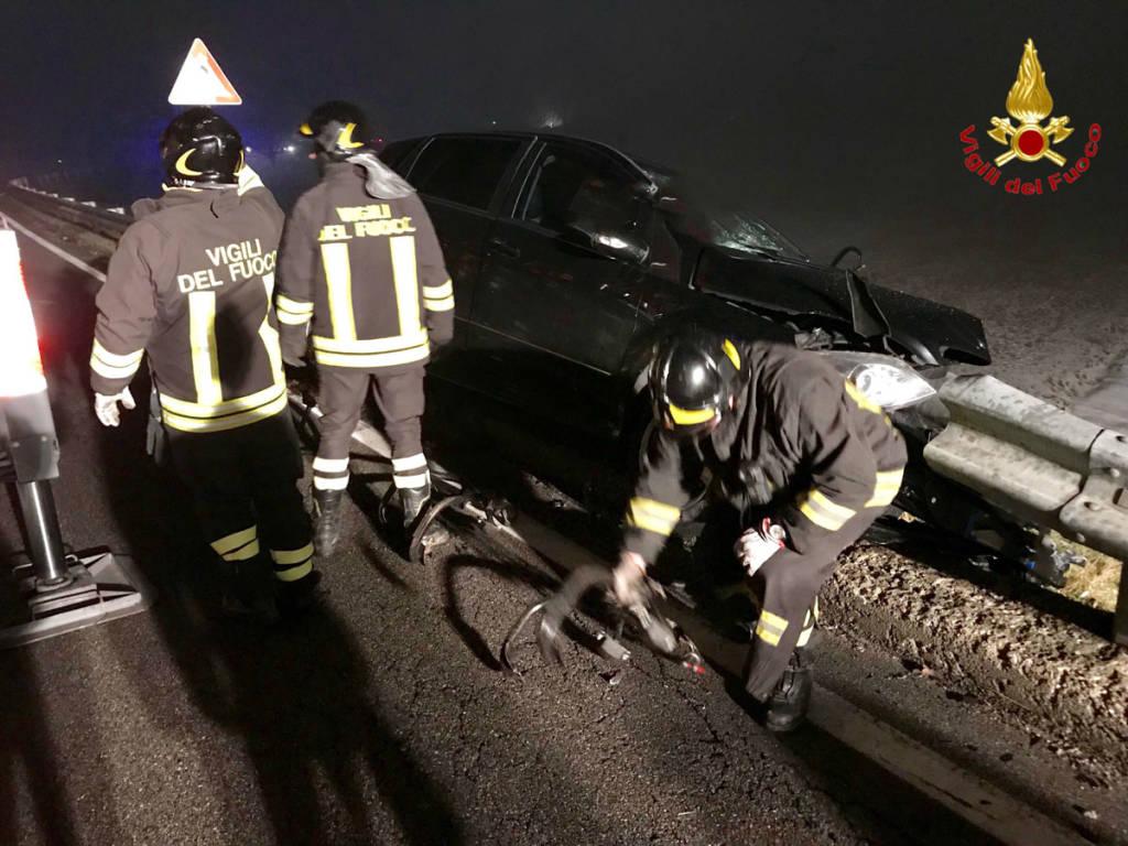 Travedona Monate - Incidente mortale 1° gennaio 2018
