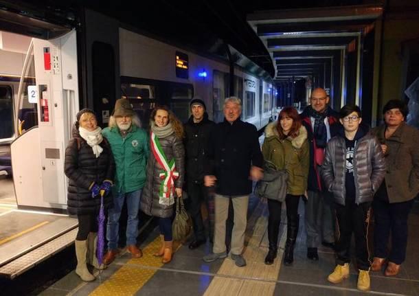 varese porto ceresio primo viaggio arcisate stabio il 7 gennaio 2018