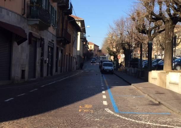 L'ultimo tratto di Viale Garibaldi potrebbe diventare pedonale