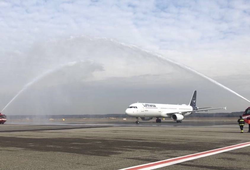 A321 Lufthansa Malpensa