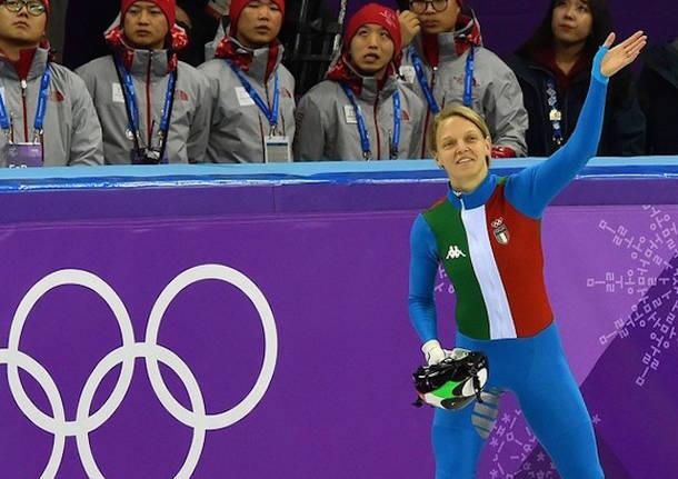arianna fontana short track olimpiadi 2018