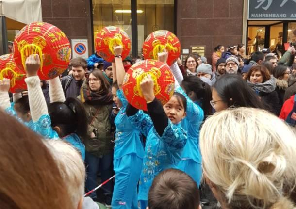 La festa a Milano per il Capodanno Cinese