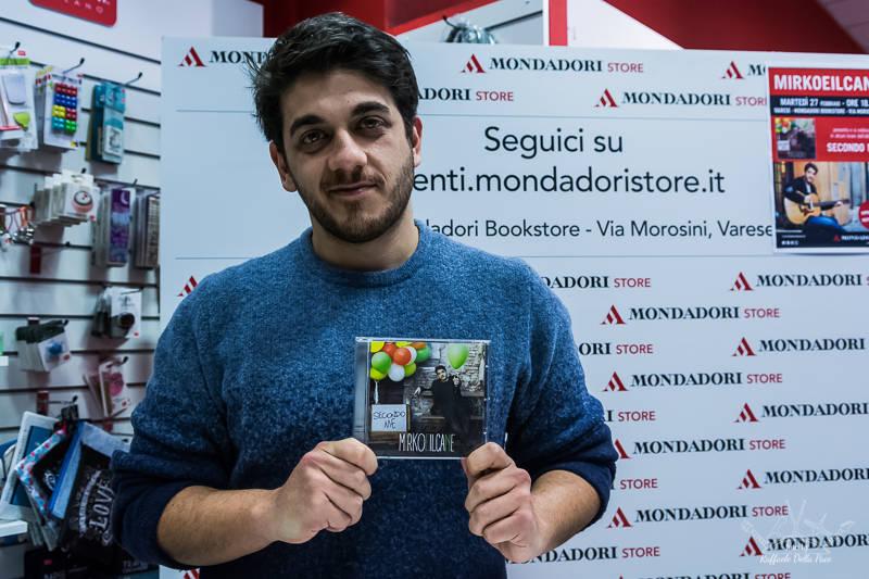 Mirkoeilcane incontra i fan a Varese