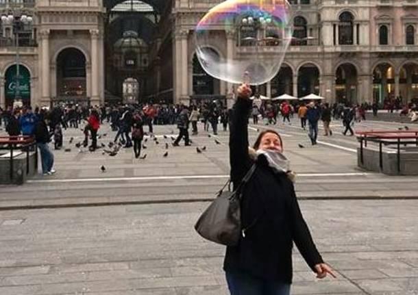 La bolla di sapone..