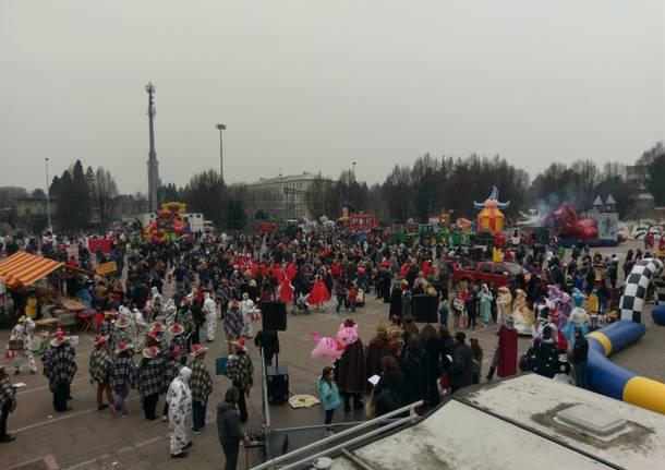 Carnevale a misura di famiglie per Saronno