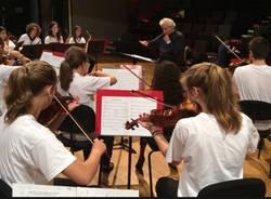 Saronno pronta ad essere invasa dai musicisti della European Youth Orchestra