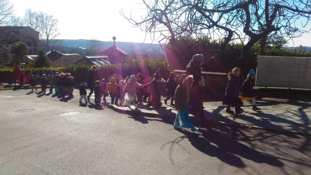 Carnevale a Casciago scuola dell'infanzia Angela Dell'Acqua