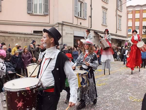 Carnevale Bosino 2018, foto di Enzo Crenna