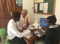 Dino Azzalin e l'ambulatorio odontoiatrico nell'Ospedale di Tosa