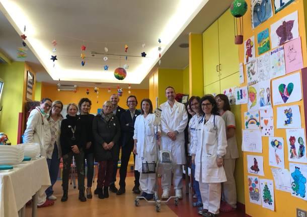 donazione pediatria associazione in ricordo di emy