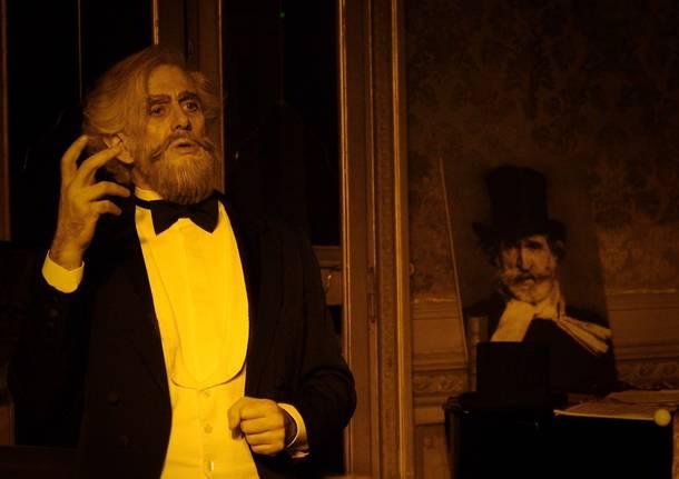 Giuseppe Verdi in visita a Gallarate