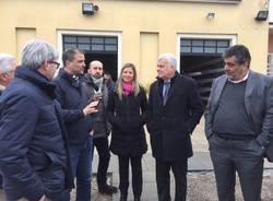 Il Ministro Galletti visita ial lago di Varese